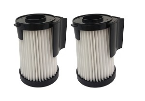 2 Filters for Eureka Optima 431, 431DX, 437AZ HEPA Vacuum