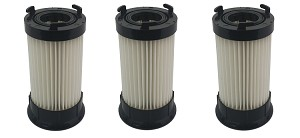 3 Filters for Eureka Vacuum DCF4 DCF-18 62132 63073 HEPA Washable