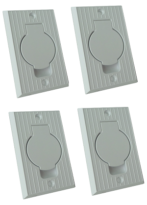 Central Vacuum Standard Valve for Honeywell 015235 (4-Pack)