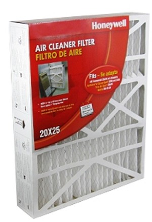 20X25X4 Space-Gard High Efficiency Air Cleaner Furnace Filter MERV-8