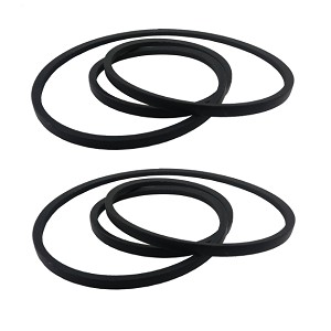 2 OEM Duplicate Belt Replaces MTD Cub Cadet 754-0241 954-0241 754-05040 954-05040