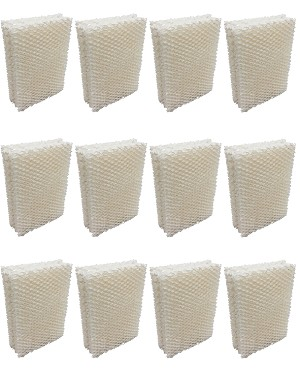 Humidifier Filter Wick for Emerson ES-12 - 12 Pack