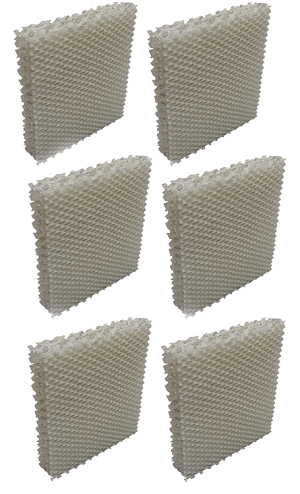 6 Humidifier Replacement Filter Sunbeam E, G, SW2002-UM, SW2002, Type F