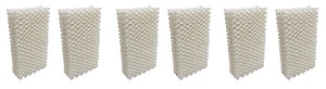 Humidifier Filter Wick for Emerson HDC411 - 6 Pack