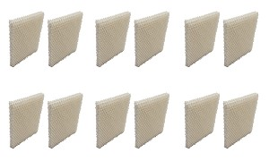 Humidifier Filter for Honeywell HCM-750 HCM750 HCM-750B HCM750B - 12 Pack