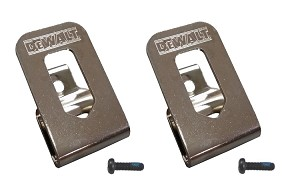 DeWalt OEM N268241 N169778 (2-Pack) Belt Clip/Hook for 20V DCD980 DCD985 DCD791