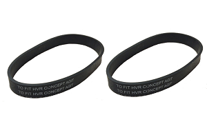 Singer SUB-3 Replacement Vacuum Belt SDB-4, 2 Pack