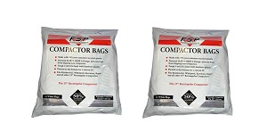 30 Whirlpool Trash Compactor Bags Compatible with Jenn Air 15""