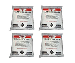 60 Whirlpool Trash Compactor Bags Compatible with Jenn Air 15""